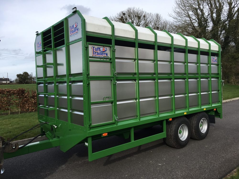 Tractor Trailer Stock : New tuffmac tractor livestock peter hosey trailers
